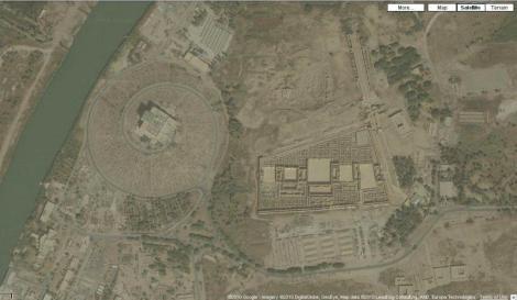 Satellite image of Babylon