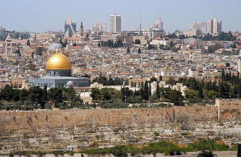 Jerusalem from Mt. Olives Wikimedia
