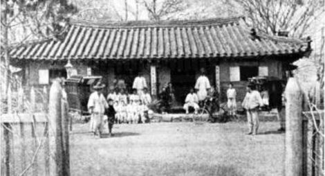Church in North Korea 1895