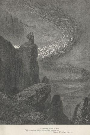 Gustave Dore illustration for The Divine Comedy