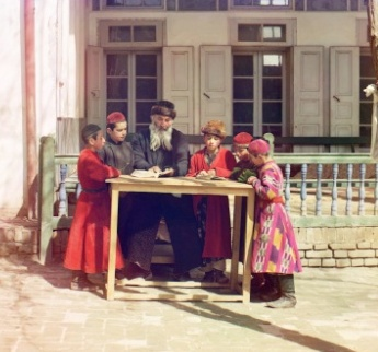 Jewish children photographed circa 1911 by Prokudin-Gorsky