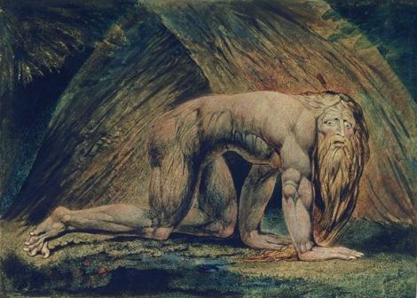 Nebuchadnezzar by William Blake, Tate Gallery, London