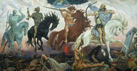 Four horsemen Apocalypse_vasnetsov
