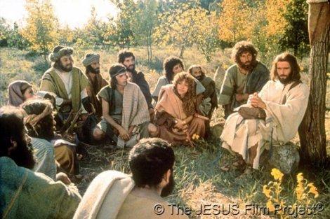 jesus film scene