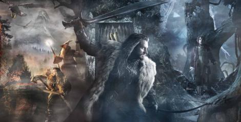 Thorin Oakenshield and Bilbo Baggins
