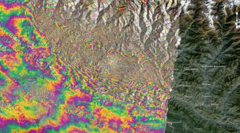Nepal land shift
