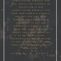 Christ's Substitution by John Stott
