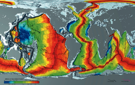thermographic image of seafloors